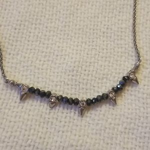 2/$12 Lia Sophia | silver necklace
